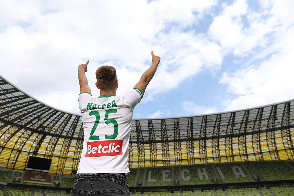 Lechia Gdańsk sponsorowana przez Betclic