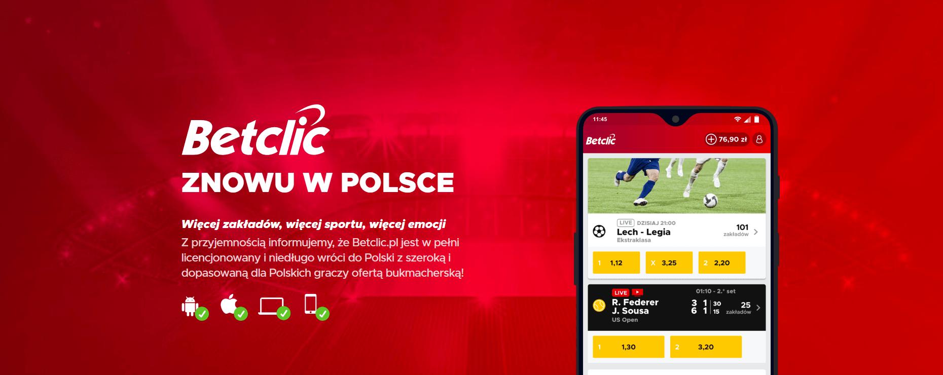 Betclic w Polsce