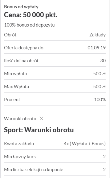Bonus 500PLN w sklepie PZBuka