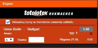 Typy Totolotek Bundesliga