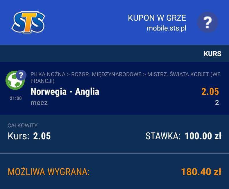 Singiel na Ćwierćifinał Mundialu