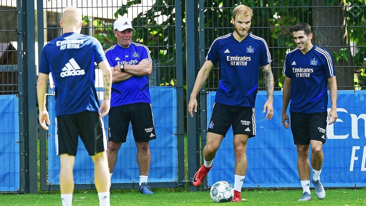 Dieter Hecking na treningu