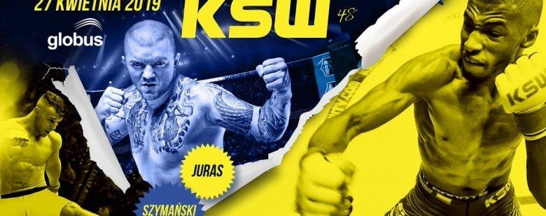 Plakat do tekstu KSW 48 typy