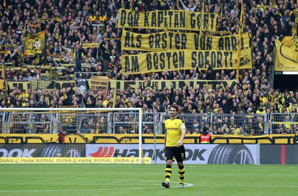 Mats Hummels przed odejściem z BVB
