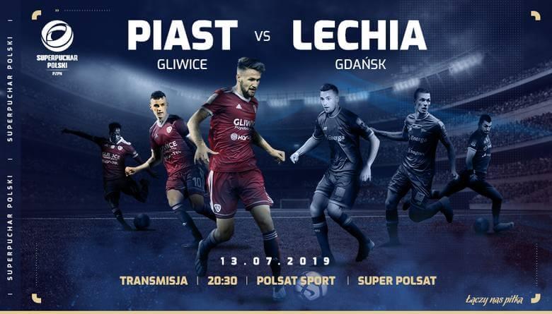 Superpuchar Polski Piast Gliwice Lechia Gdańsk