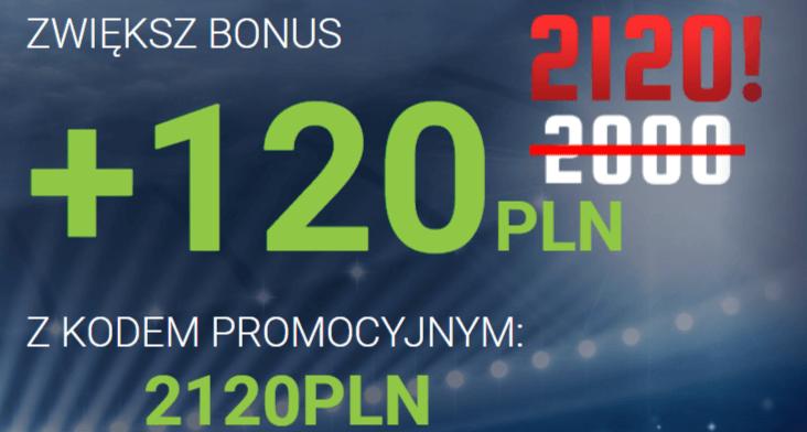 Bonus w forBET + 120 złotych