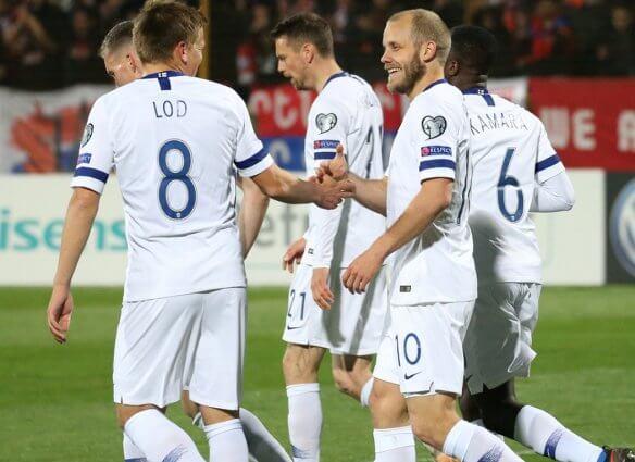 Piłkarze reprezentacji Finlandii