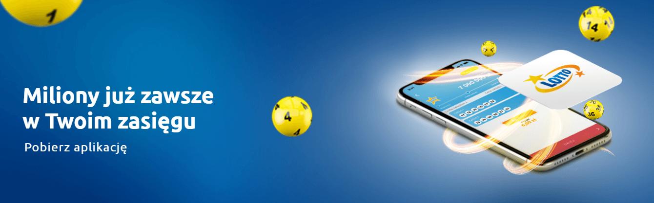 Lotto online w aplikacji