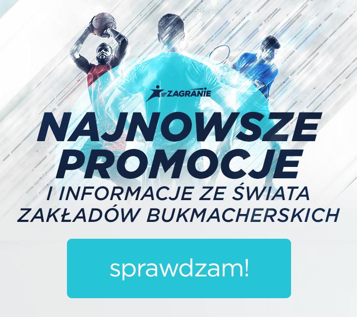 Zakłady bukmacherskie online - aktualne promocje bukmacheskie